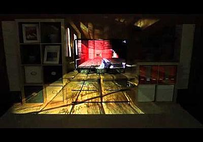 IllumiRoom by Microsoft Research: Peripheral Projected Illusions for Interactive Experiences