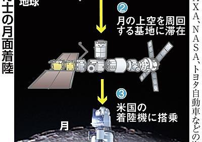 日本人初の月面着陸、日米が合意 10年以内にも実現 - 産経ニュース
