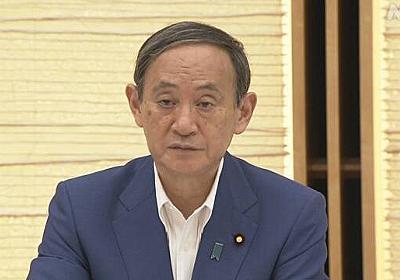 菅官房長官 「ワーケーション」普及で観光促進を   NHKニュース