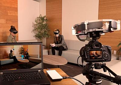 HoloLensをつけていない人もゴーグルを通した映像が見える新機能「Spectator View」が発表   Mogura VR