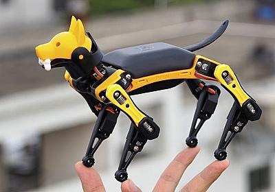Arduino互換でカスタマイズできる——手のひらにのる犬型ロボット「Petoi Bittle」 | fabcross