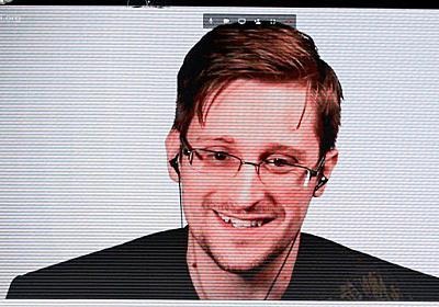 [FT]スノーデン氏大人気 若者に「監視される不安」 (写真=ロイター) :日本経済新聞