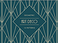 商用利用無料!有料の美しい幾何学模様のアールデコのパターン素材が無料でダウンロードできます | コリス
