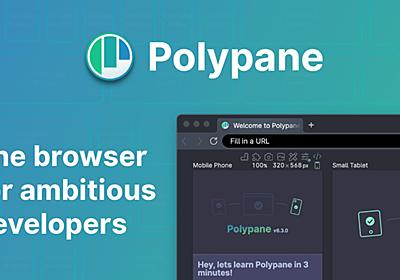 Polypane, The browser for ambitious developers