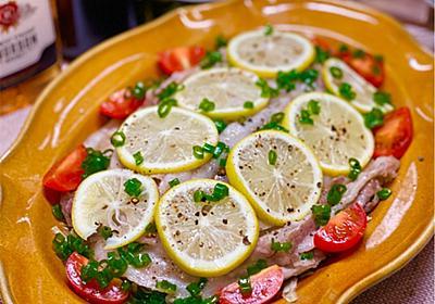 【レシピ】レンチン一発!豚バラとキャベツの塩だしレモン! - しにゃごはん blog