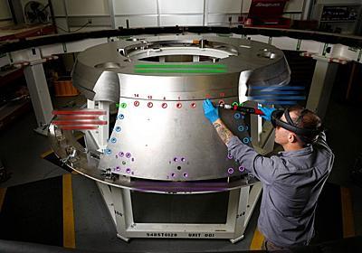 NASA「HoloLensをつけてロケットを組み立てると効率いいよ」 | ギズモード・ジャパン