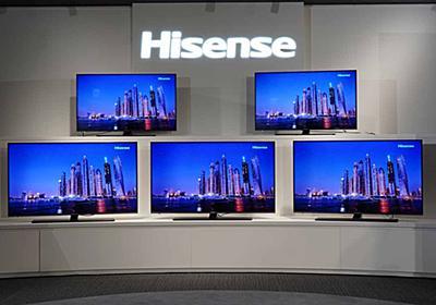 BS4Kチューナ搭載で50型が10万円、ハイセンス4KテレビはレグザエンジンNEO - AV Watch