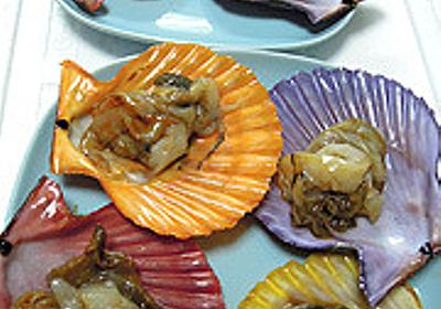 コンビニの貝柱の貝、貝殻がめちゃめちゃカラフル - デイリーポータルZ