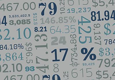数字が美しい書体選びの秘訣とは?すぐに使える Google フォント20個まとめ付 - PhotoshopVIP
