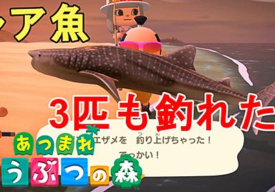 【あつ森】超朗報!レア魚がいっぱい釣れました!リュウグウノツカイ、シーラカンス、カジキ、ジンベエザメ、ピラルクの釣り方解説!How to fish rare fishes!Animal Crossing New Horizons【あつまれ どうぶつの森/ニンテンドースイッチ】 - じゃがいもゲームブログ
