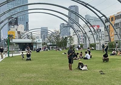 「ホームレスの聖地だったからね…」渋谷の宮下公園(ミヤシタパーク)の真下がこんな感じなのはマジで社会の授業に使えそう - Togetter