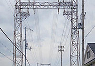 鉄塔のトンネルを見に行った - デイリーポータルZ