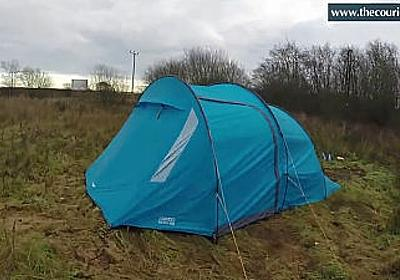 Amazonの出荷倉庫で働く労働者が野外テントで寝泊まりしているケースが判明 - GIGAZINE