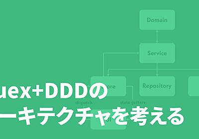 Vuex + DDD のアーキテクチャを考える - Techtouch Developers Blog