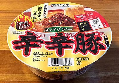辛辛豚らーめん 食べてみました!濃厚な豚骨ベースにスパイスを利かせた激辛な一杯! | きょうも食べてみました!