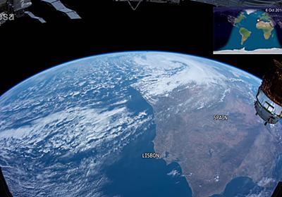 国際宇宙ステーションから地球の「おはよう」から「おやすみ」までを見つめるタイムラプスムービーが公開中 - GIGAZINE