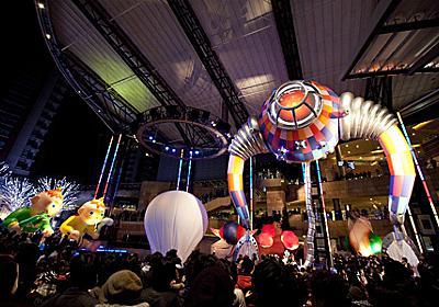 六本木ヒルズや東京ミッドタウンなどで一夜限りのアートの饗宴、草間彌生の新作発表も - アート・デザインニュース : CINRA.NET