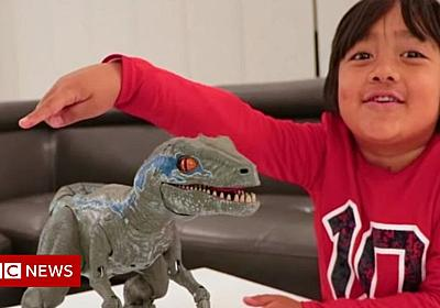 YouTube top earners: The seven-year-old making $22m - BBC News