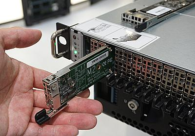 「M.3 SSD」の動作デモがOTTOServerで実施中、Samsung製4TB×3枚構成 - AKIBA PC Hotline!