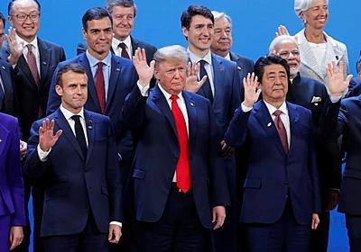 安倍首相、AIで「日本がルール作り主導」G20非公式会合