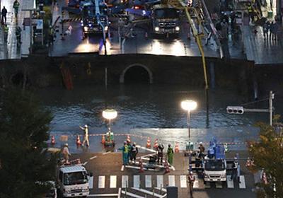 【博多駅前陥没事故】高島宗一郎・福岡市長の情報発信に称賛の声 | ハフポスト
