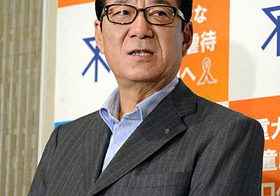 「シニア層が走るの見てもうれしくない」大阪・松井市長:朝日新聞デジタル
