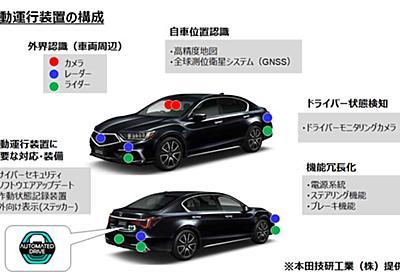 国交省、ホンダ「レジェンド」に世界初のレベル3自動運転車の型式指定 - Car Watch