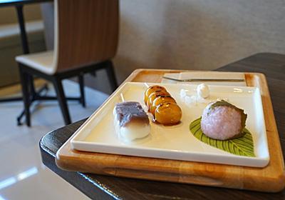 虎屋cafe.で和菓子プレートランチ。   PHO-TOKINA.