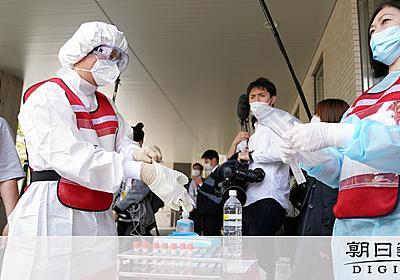 [B! 医療] PCR検査を倍にすれば、接触「5割減」でも収束可能?:朝日新聞デジタル