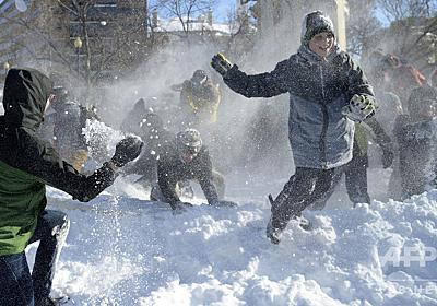 約100年続いた「雪合戦禁止法」、9歳男児が弁舌で覆す 米コロラド州 写真1枚 国際ニュース:AFPBB News
