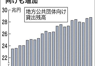 銀行、苦肉の金利ゼロ融資 マイナス金利で日銀預金抑制 政府系機関へ資金 :日本経済新聞