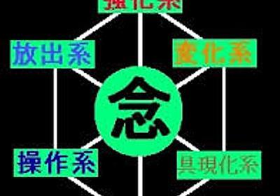 プログラマ念能力の系統 - ローファイ日記