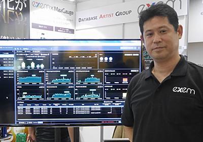 DBの稼働状況を即時にグラフ表示、日本エクセムがラインアップ4種 | 日経 xTECH(クロステック)