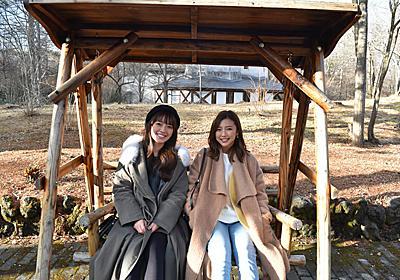 真野恵里菜と瀧川ありさが冬の軽井沢へ!夜のスキー場ではナイトバギーを体験!|トリドリ