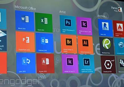 Adobe、Surface Pro 3に最適化したPhotoshop CCを提供。他製品もタッチ&ペン最適化へ - Engadget 日本版