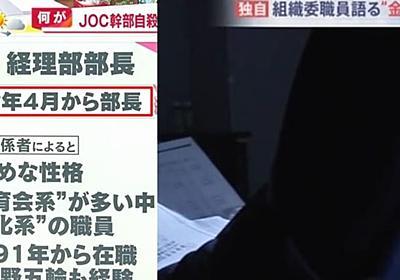 森谷靖自殺理由は替え玉人事「JOC経理部長は4月から」報道特集を知り絶望か   こねこのニュース調べ