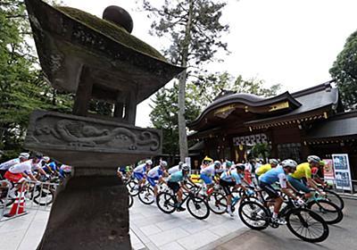 「こんな光景もうないわ」 神社を走る自転車集団...五輪ロードレースが捉えた日本の風景: J-CAST ニュース【全文表示】