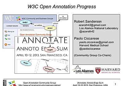 iAnnotate 2013 Introduction