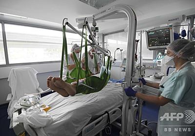 仏の新規感染、1日で5万人超える 過去最多 写真3枚 国際ニュース:AFPBB News