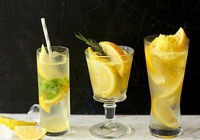 「冷凍レモン」で作るレモンサワーが最高にうまい! 夏日に作りたい、爽快レモンドリンクレシピ3選 - dressing (ドレッシング)