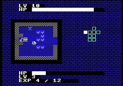 たったの10行のコードで作られたMSX用RPG「10 Lines Hero」をブラウザで遊んでみた - GIGAZINE
