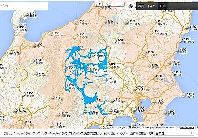 Google とホンダ、豪雪災害地域の道路情報を公開。通行実績のある道路を地図上に表示 - Engadget 日本版