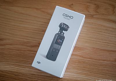 動画も撮ってみようと思ってDJI Osmo Pocketを買って半年経つけど全く使ってない話 - I AM A DOG