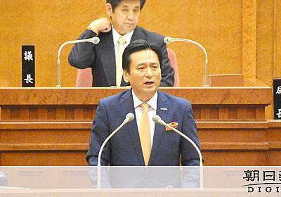 佐賀)知事と市長 新幹線は同一歩調、オスプレイは違い:朝日新聞デジタル