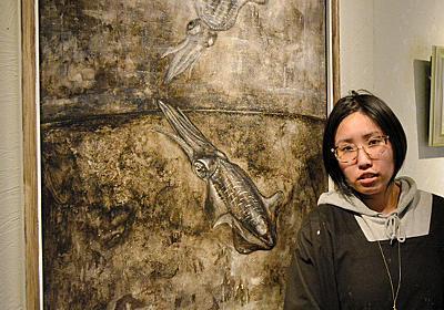 ほぼ毎晩イカの夢、イカだけ描き13年 女性画家が個展:朝日新聞デジタル