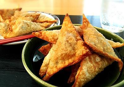 【雑穀料理】余ったシュウマイの皮を美味しくアレンジ!ひとくち三角春巻きの作り方・レシピ【車麩】 - Tempota Blog