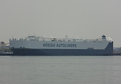 HOEGH AUTOLINERSの自動車運搬船HOEGH DETROIT - SHIPS OF THE PORT