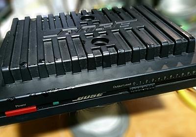 電源の入らない「BOSE 1705Ⅱ」ステレオパワーアンプの修理を依頼されました。(TDA7294交換 (分解画像