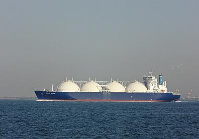 LNG船 GRAND MEREYA - SHIPS OF THE PORT