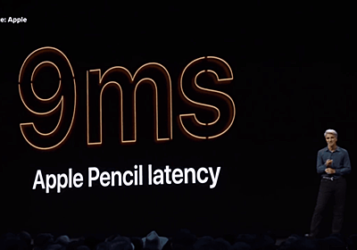 iPadOSではApple Pencilの描画遅延が大幅に低減、スクリーンショット機能も便利に - Engadget 日本版